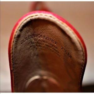 1d05194650 Steve Madden Shoes - NEW Steve Madden Dolly Red Nubuck Heel 7.5 Leather